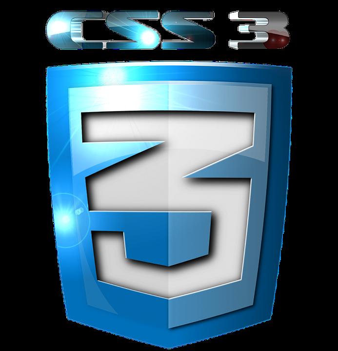 Logotipo de CSS3 para la programación de paginas web
