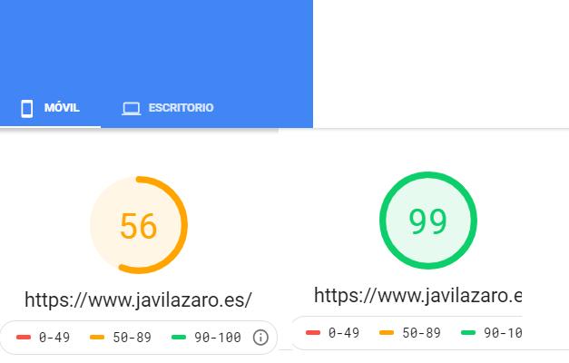Medición de velocidad de la web con generate press